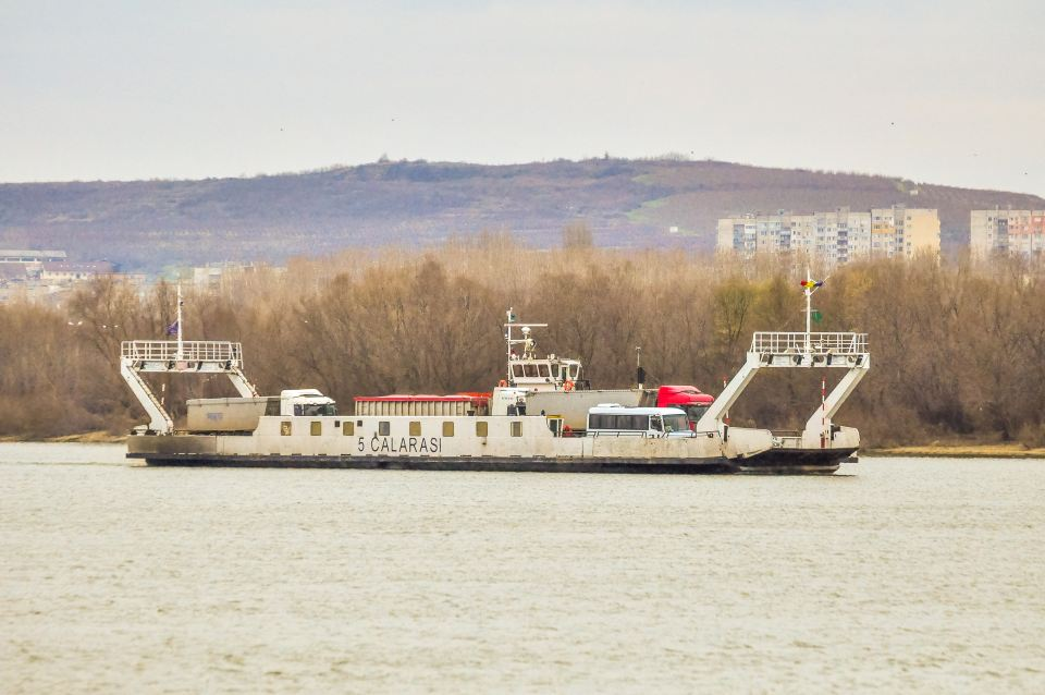 Bacul care face legatura intre punctul de frontiera Chiciu si Silistra