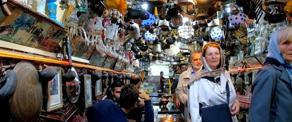 different sights in Esfahan